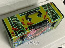 One Of A Kind Rat Rod Monster Artist Series #1 Hand Painted Tool Box Rat Fink