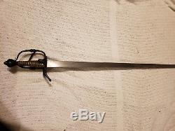 One of a Kind Christmas Gift Walloon Sword Darkwood ArmArt Vladmir Cervenka