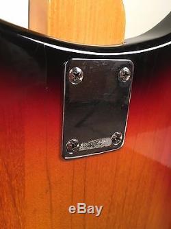 One of a Kind Teisco Gen Gakki Sunburst Semi-Hollowbody Guitar from Collection