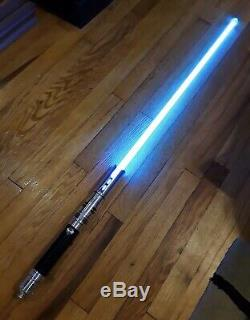 One-of-a-Kind Ultrasabers Fallen with Obsidian v4 Soundboard and Modified Emitter