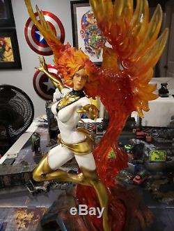 One of a Kind White Phoenix X-men Premium Statue 1/4 Scale XM Studios Marvel