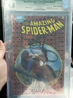 One of a kind Amazing spiderman 300 Chrome 9.8 Marvel Collectible Classics 1