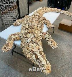 One of a kind art Artifact Alligator
