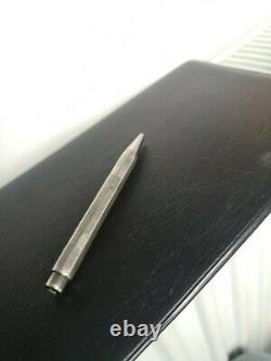 One of a kind rare montblanc pix silver 835