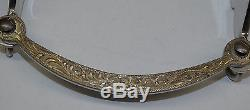 Original Dale Chavez Prototype Silver-Gold Western Style Bit Rare One of A Kind