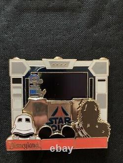 PODM Piece of Disney Star Wars Pin Plays Actual Movie Clips Live One Of A Kind