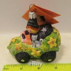 Patricia Breen Halloween Witch Way Signed, Rare, One Of A Kind