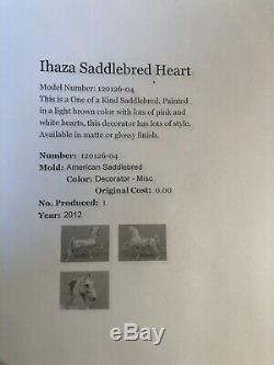 Peter Stone Ihaza Saddlebred Rare One Of A Kind