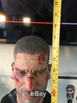 Punisher Bust Jon Bernthal Custom One of a kind