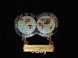 RARE DAR UNITS OVERSEAS UNITED KINGDOM JE Caldwell Gold Filled One of a Kind