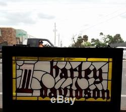 RARE ONE OF A KIND Robison Harley Davidson AMF dealership sign from 1962 to 1993