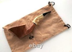 Radice Clear Collect Roe Deer Antler Italian Tobacco Pipe One of a Kind