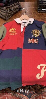 Ralph Lauren Upcycle Rugby One Of A Kind, Upcycle Collection. Very Very Rare
