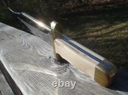 Rare 1980's One Of A Kind Buck 903 Knife Custom Handle Leroy Remer USA