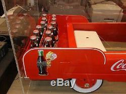 Rare Collector Coca-Cola pedal Car, Coke truck! Possibly one of a kind