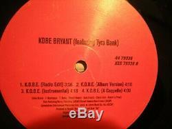 Rare Hand Signed Album Lp Kobe Bryant K. O. B. E. Rap-one Of A Kind-certified Ga