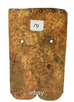 Rare Museum Worthy 3 1/2 Bone Gorget Davis Coa One Of A Kind Historic Artifact