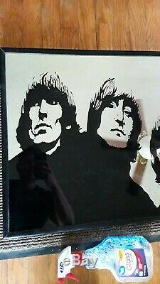 Rare, Vintage Beatles handmade one-of-a-kind mirror! 21 by 31 inches. 3/4 thick