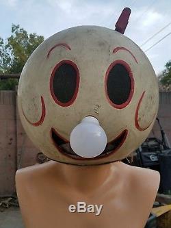Reddy kilowatt mascot costume head very very old original one of a kind