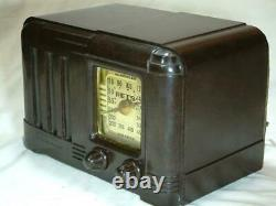 Restored one of a kind RETS late 1940's tube radio working