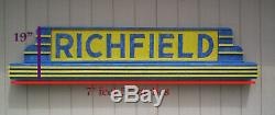 Richfield Gas Huge 0ver 7 feet wide. One of a kind