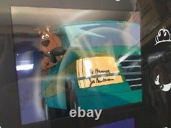 Scooby Doo ONE OF A KIND SIGNED ANIMATION CEL The Witches Ghost