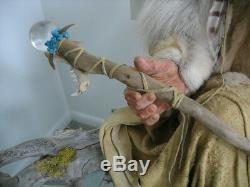 Shaman, collectible, one of a kind, custom made