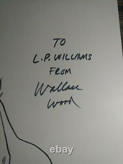 Signed WALLACE WALLY WOOD Hand Drawn Stan Lee dc mad one of a kind erotica