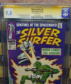 Silver Surfer 2 CGC 9.8 Signature Series Stan Lee! One of a Kind! 1968
