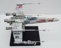 Star Wars X-WING FIGHTER Red 5 INCREDIBLE 138 scale model One of a kind