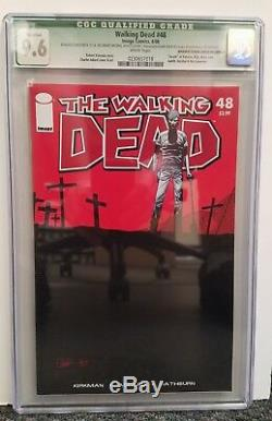 THE WALKING DEAD #48 CGC 9.6 MANUFACTURING ERROR Super Rare! One Of A Kind