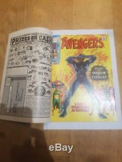 The Avengers #87 ONE OF A KIND TRIPLE COVER! ORIGIN BLACK PANTHER