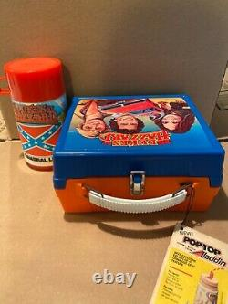 The DUKES OF HAZZARD lunch box NEW with TAGS! GENERAL LEE! Custom one of a kind