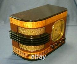 The one-of-a-kind Clinton 615SQ Radio Restored and Absolutely Stunning