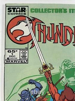 ThunderCats #1 1985 DOUBLE COVER ONE OF A KIND! Newsstand