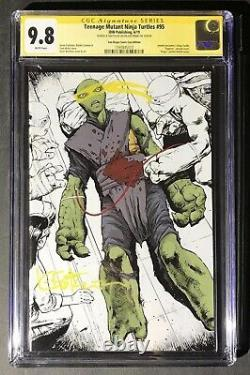 Tmnt #95 Sdcc Cgc 9.8 Ss Kevin Eastman With Custom Sketch One Of A Kind Vhtf