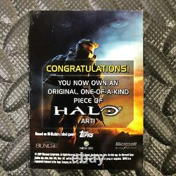 Topps Halo 2007 Sketch Card Kevin Graham One-of-a-kind Art Microsoft Xbox