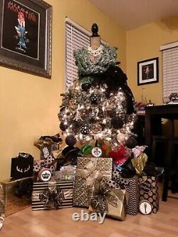 Truly A One Of A Kind Christmas Tree. Christmas Dress Theme. Custom Design
