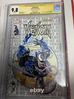 Venom 1 2018 Mayhew variant CGC 9.8 SS one of a kind signed by Stan Lee