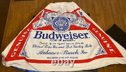 Vintage BUDWEISER Budman Costume 1970s Rare ONE OF A KIND Collectible Halloween