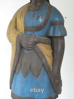 Vintage Cigar Store Figure Fiberglass after Robb one of a kind