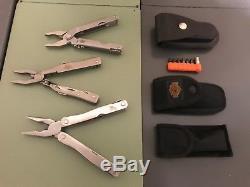 Vintage Harley-Davidson Collector's Knife lot Buck Gerber Rare one of a kind set
