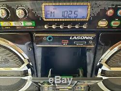 Vintage LASonic i931 Boom Box Am/Fm Radio One Of A Kind Collectible Tested