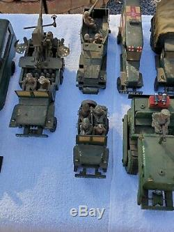 Vintage ONE OF A KIND WWII 1940s US Military Wood Jeep Tank Truck Motor Pool Lot