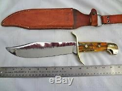 Vintage Western Bowie Knife W49 custom one of a kind
