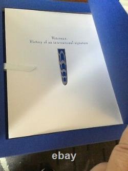 Waterman Edson Boucheron Ltd Edition Fountain Pen Nib One Of A Kind Specimen