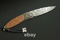 William Henry Knife Collectors Series One Of A Kind September 2009 22k & Xylal