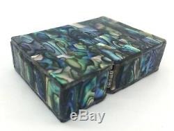 Zippo Custom Mother of Pearl Masterpiece Hand Made! One of a Kind