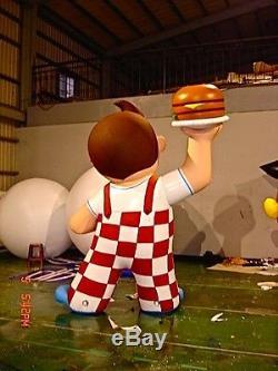 11 Pi Bob's Big Boy Gonflable Figure Personnalisée (unique) Look