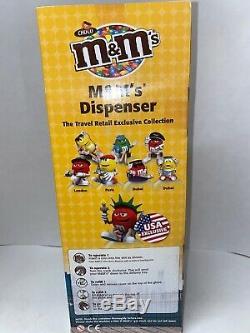 12 Etats-unis M & M Rare Candyrific Prototype Tirelire Bonbons Distributeur Unique En Son Genre